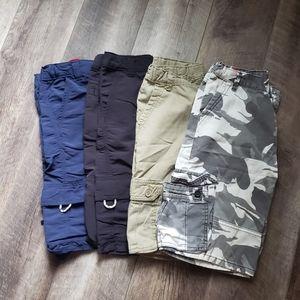 Lot of boys wrangler shorts size 12 husky